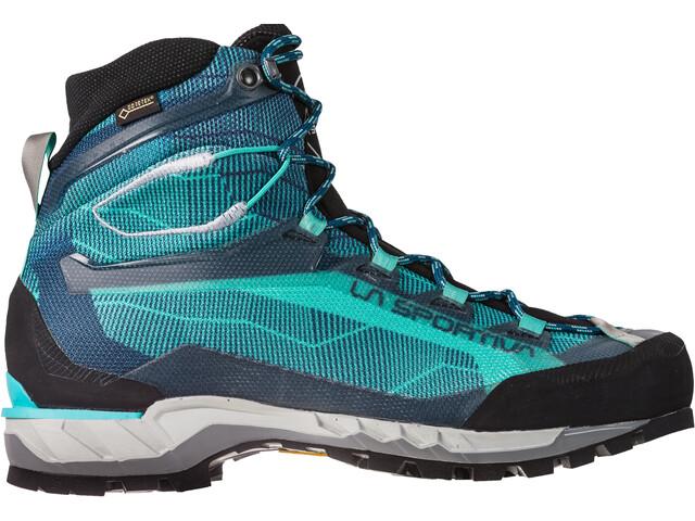 La Sportiva Trango Tech GTX Shoes Dame aqua/opal